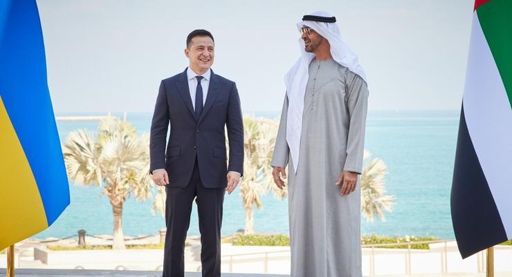 Украина в ОАЭ подписала контракты на $3 млрд