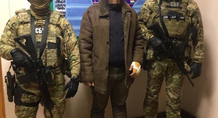 На Одесчине поймали командира ДРГ боевиков