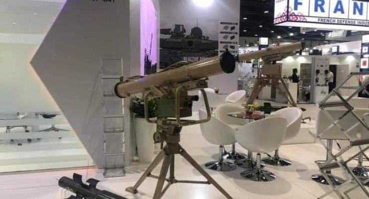 Украина представила продукцию своего ОПК на выставке в ОАЭ