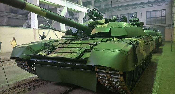 ВС Украины получили партию модернизированных танков