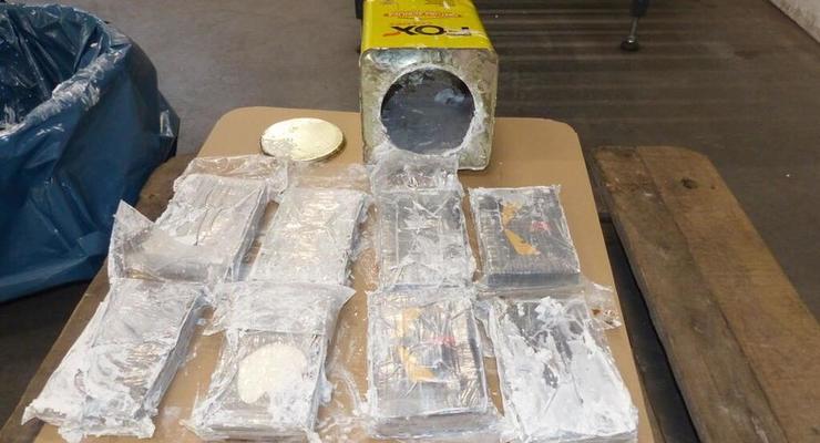 В портах Европы изъяли рекордные 23 тонны кокаина