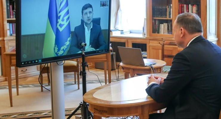 Зеленский и Дуда обсудили противодействие СП-2