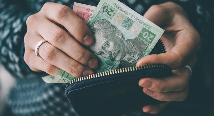 В Украине каждый девятый получает зарплату меньше 5 тысяч грн