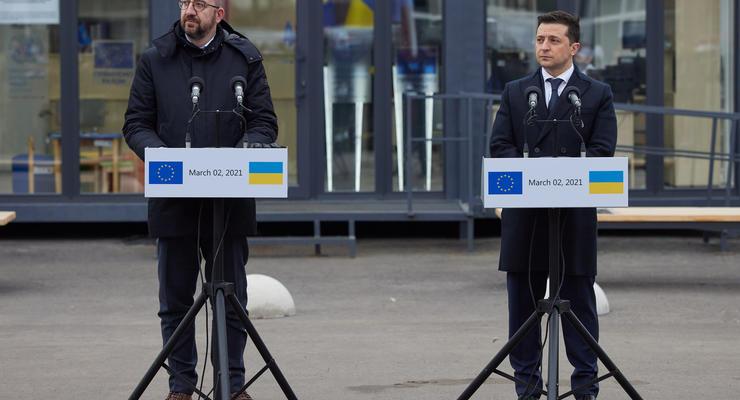 """За """"произвол"""" в Крыму: Зеленский предложил ЕС ввести новые санкции"""