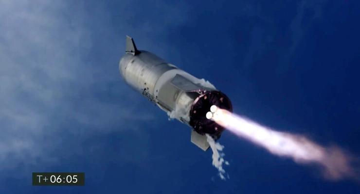 Корабль Starship взорвался после посадки