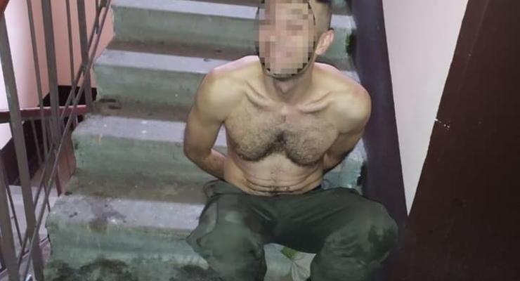 В Запорожье дебошир в магазине бросался на охрану и угрожал все взорвать