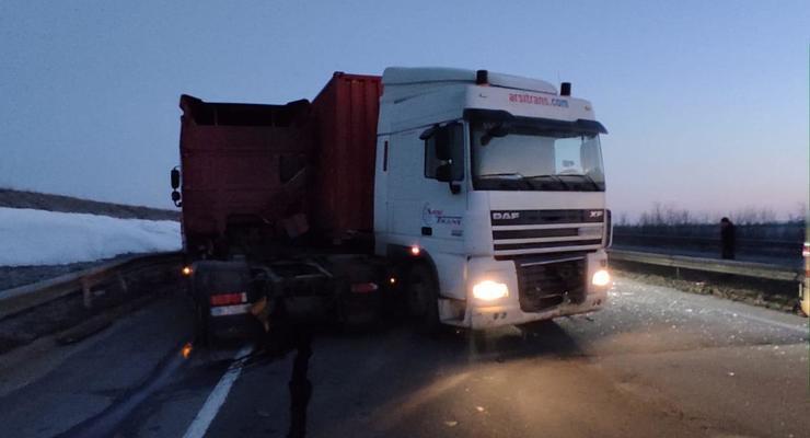 На Одесчине столкнулись два грузовика: Есть погибшие