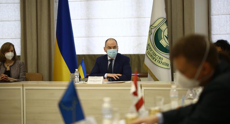 """В Украине могут """"покраснеть"""" еще четыре области"""