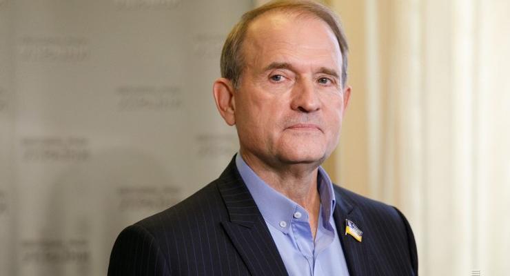 Медведчук подал в суд на Зеленского из-за санкций