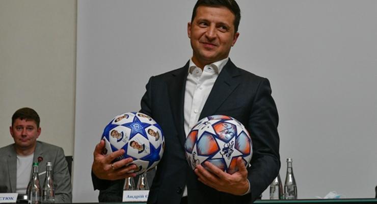 Зеленский поддержал сборную перед матчем с Казахстаном