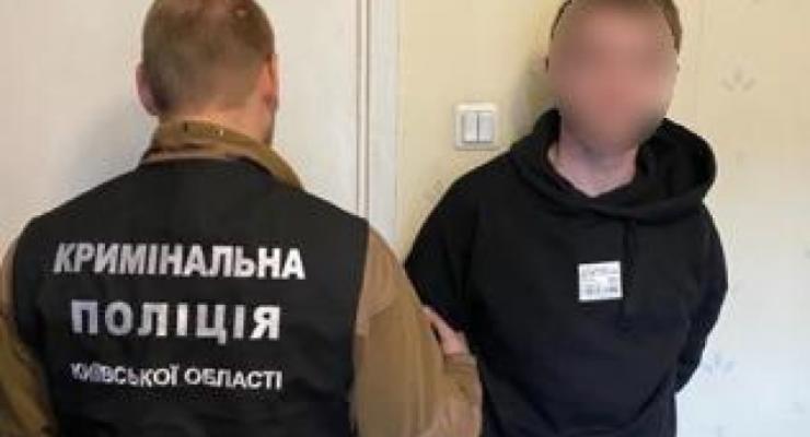 Полиция обнародовала видео жестокого убийства под Киевом. 18+