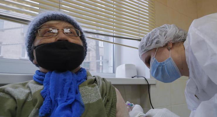 На Киевщине за четыре дня не вакцинировали ни одного человека