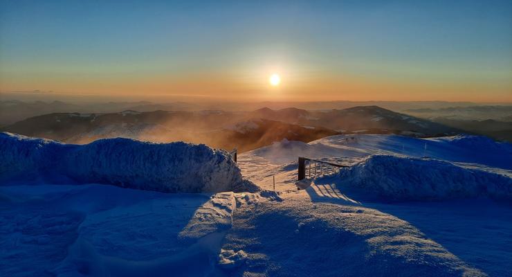 В Карпатах сохраняется мороз, температура достигает -11 градусов