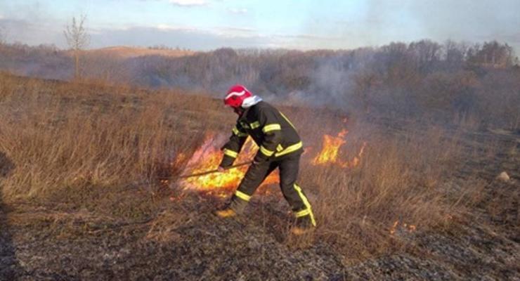 В Украине снова горят экосистемы: около 200 пожаров за сутки