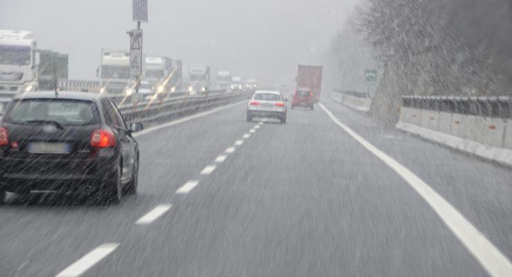 На Украину движется снежный фронт, - синоптик