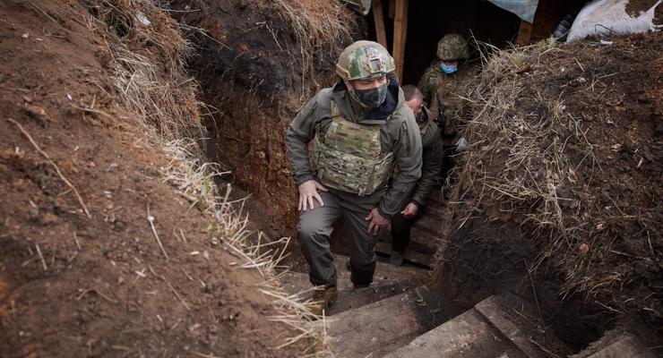 Зеленский объяснил, зачем РФ эскалация на востоке Украины