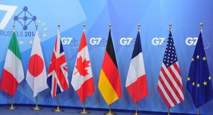 G7 и ЕС обратились к России из-за Украины