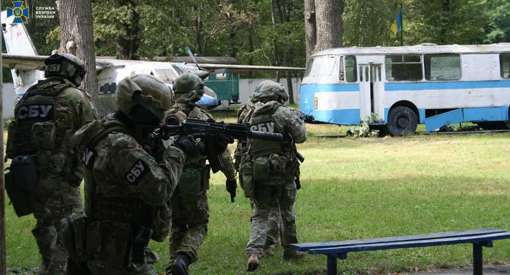 14 апреля на Харьковщине начнутся антитеррористические учения