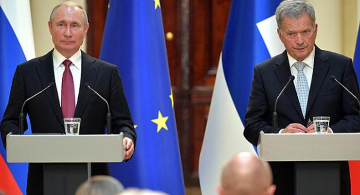 Президенты Финляндии и РФ обсудили ситуацию на границе с Украиной