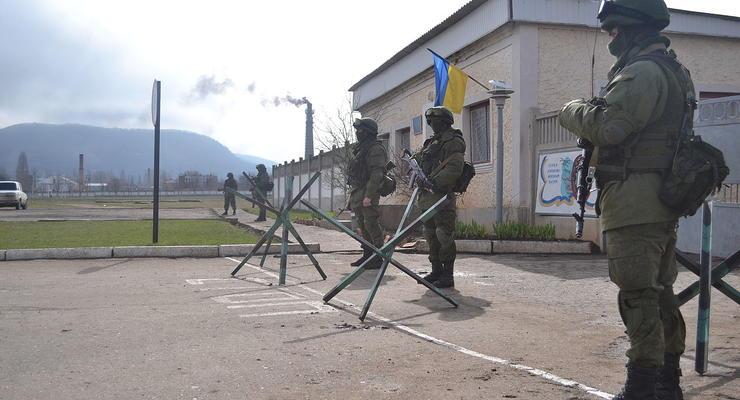 За сдачу военной базы в Крыму вручили подозрение ее командиру