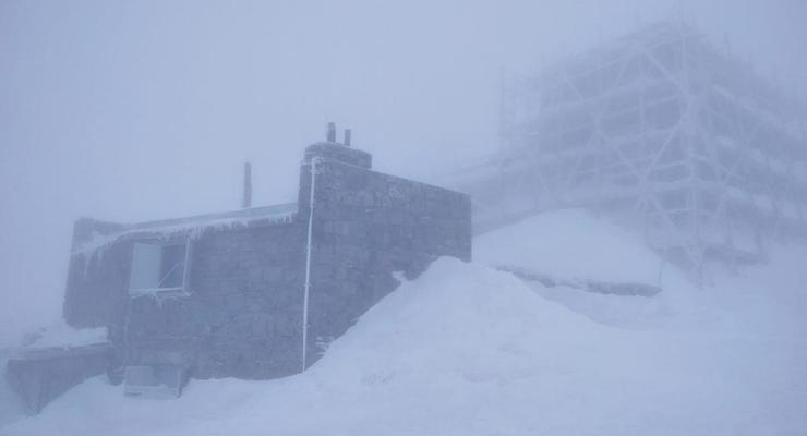 В Карпатах ударил мороз до -3 градусов