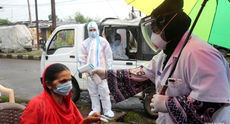 В Индии суточный прирост COVID-19 достиг 200 тысяч случаев