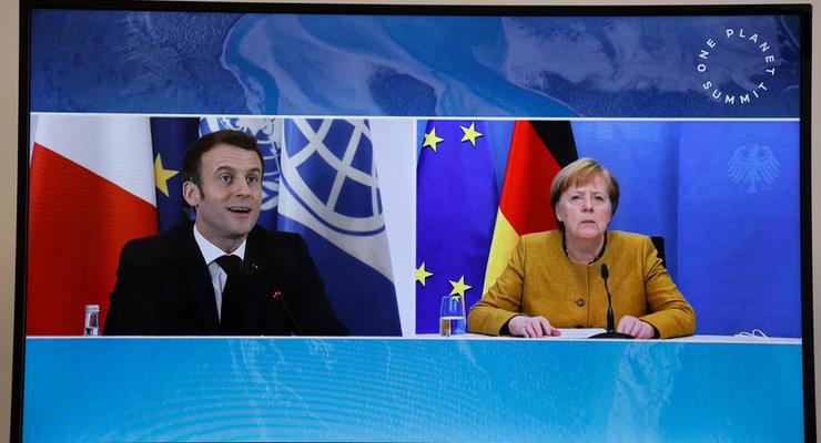 К переговорам Зеленского и Макрона присоединится Меркель