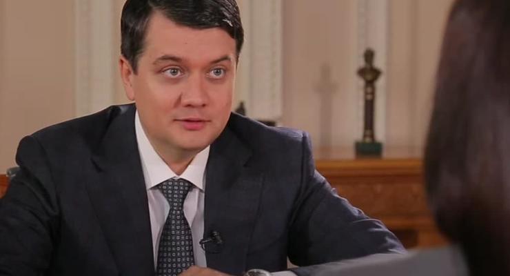 """Разумков: """"Оснований для ввода военного положения нет"""""""