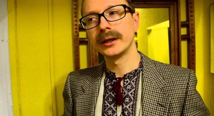 В Киеве избили телеведущего Майкла Щура