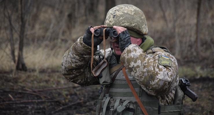 На Донбассе при обстреле погиб боец ВСУ