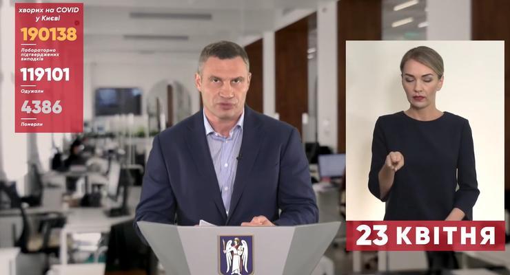 COVID в Киеве 23.04.2021: Названо количество умерших