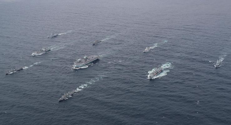 Британия отправляет в поход крупнейшую в истории группу кораблей