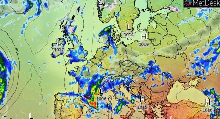 Погода 1.05.2021: В Украине будет тепло и дождливо