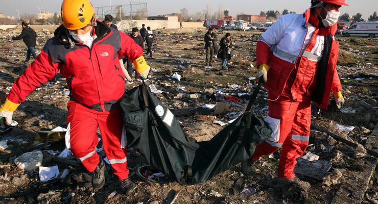 Украина сделала замечания к отчету Ирана о катастрофе Boeing