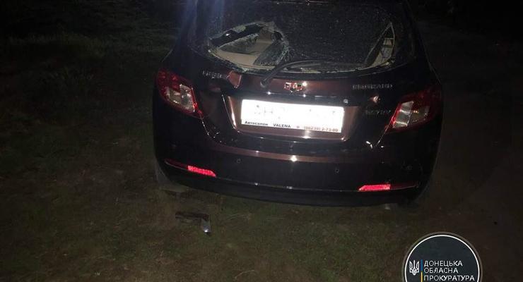 На Донетчине пьяный водитель сбил мужчину и двух детей