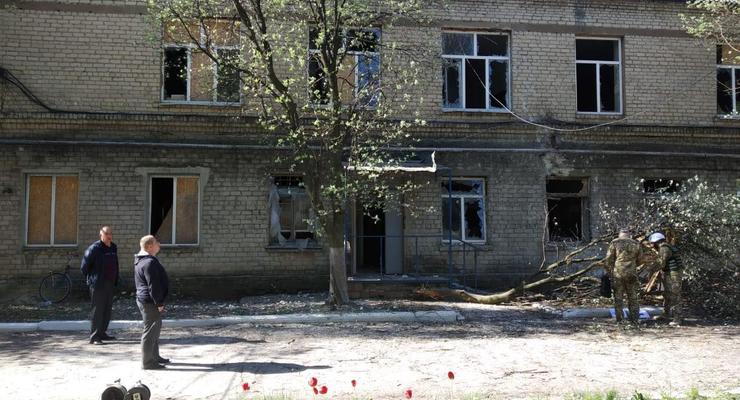 На Донетчине из-за обстрела сепаратистами  больницы умер COVID-пациент