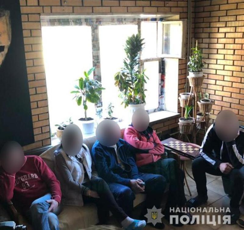 Незаконный реабилитационный центр / zp.npu.gov.ua