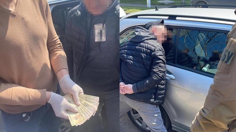 Подозреваемый в преступлении / facebook.com/sbu.odessa/