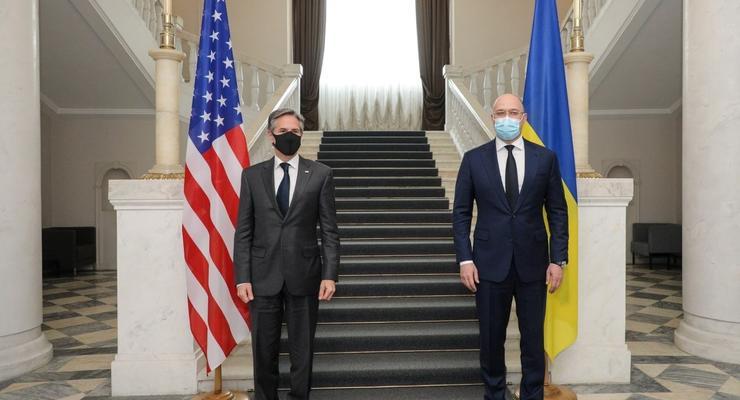 Шмыгаль и Блинкен обсудили энергетическую безопасность Украины