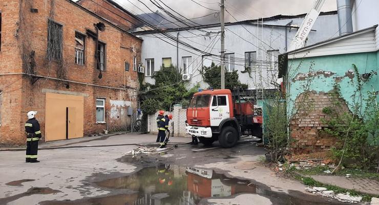 Пожар в Виннице: полиция открыла уголовное дело