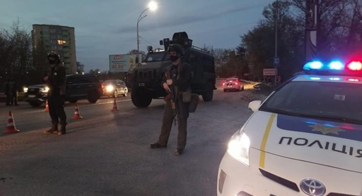 Разбой и захват заложников: в Броварах прошли масштабные учения силовиков
