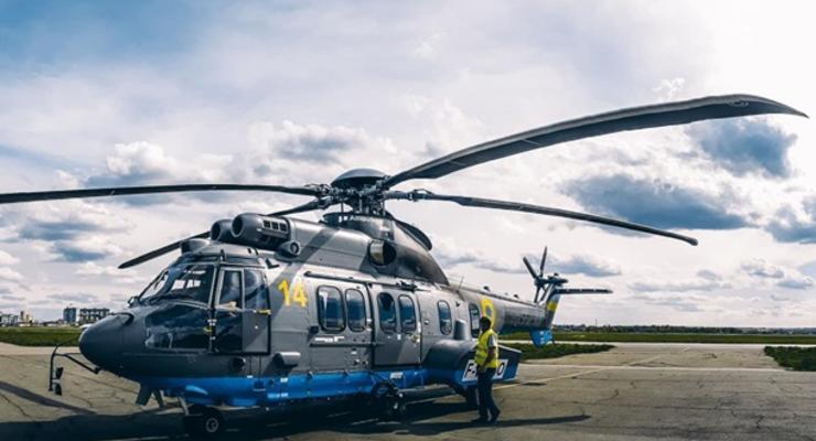 В сети появились фото третьего вертолета Airbus, который получила Нацгвардия