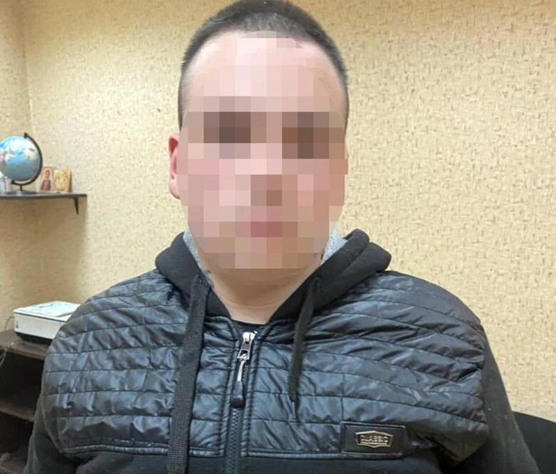 Подозреваемый в преступлении / facebook.com/UA.KyivPolice/
