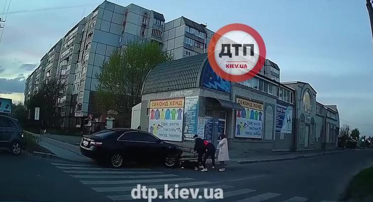 Под Киевом пьяный водитель убегал от полиции и сбил ребенка