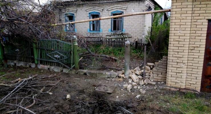 Жилые районы Марьинки попали под обстрел