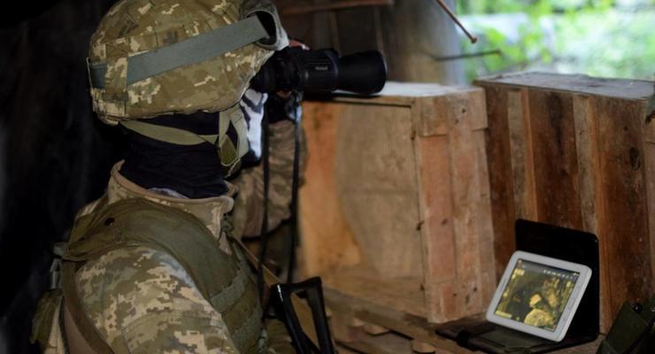 На Донбассе подорвался УАЗ с боевиками