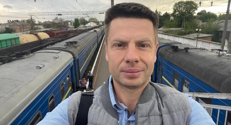 У нардепа Гончаренко в поезде украли сумку с деньгами