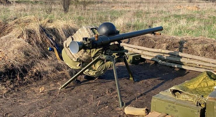 Ситуация в ООС: Боевики обстреляли авто группы разминирования
