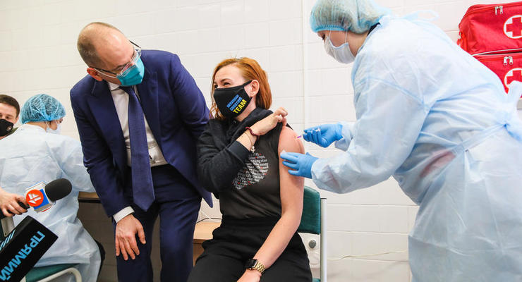 Более 900 тысяч украинцев уже сделали прививки от СOVID