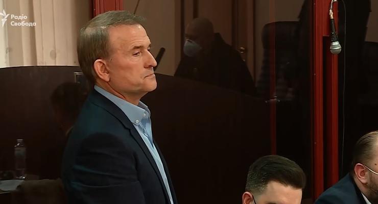В Киеве начался суд над Медведчуком: избирают меру пресечения